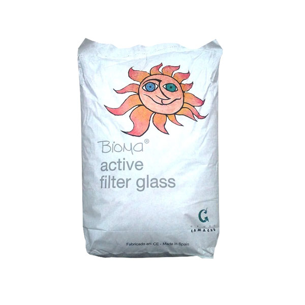 Vidrio Filtrante BIOMA Active Filter Glass (Saco 20Kg)